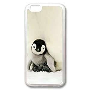 "iPhone 6 Case, Baby Penguin Custom Case for iPhone 6(4.7"") Soft TPU Material Transparent"