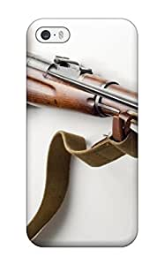 Kevin Charlie Albright's Shop 5314299K14378562 For TashaEliseSawyer Iphone Protective Case, High Quality For Iphone 5/5s Mosin Nagant Rifle Skin Case Cover