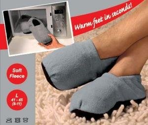 Snuggle Toes Hot Slippers Soes For Arthritis Unisex