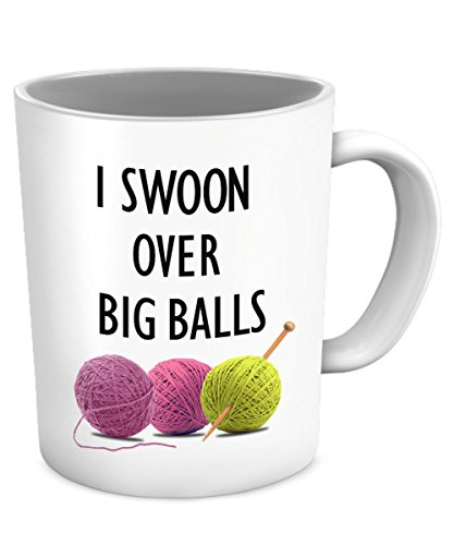 Funny Knitting Gifts Swoon Balls product image