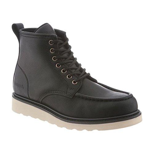 Bearpaw Mens Crockett Leather Moc Toe Boots