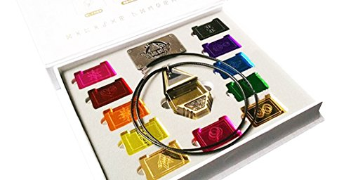 Digimon Necklace Fusion Greymon Pendent Badges Emblem Cosplay Costume Prop Accessory]()