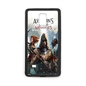 Assassin's Creed theme pattern design For Samsung Galaxy Note 4 Phone Case