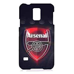 Personal Design FC Arsenal Football Club Phone Case Cover For Samsung Galaxy S5 3D Plastic Phone Case
