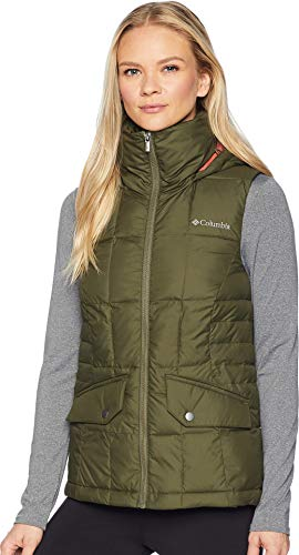 Columbia Women's Lone Creek Hooded Vest, Nori Medium