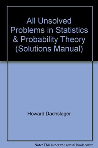 all unsolved problems in statistics probability theory solutions rh amazon com Conditional Probability Examples Accounting Information Systems