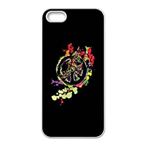 iPhone 4 4s Cell Phone Case White PEACE AND PEACE BGU Silicone Phone Cases