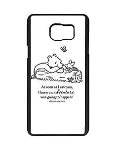 Disney Cartoon Series Phone Fundas/Case - Samsung Galaxy Note 5 Fundas/Case Winnie The Pooh for Men , Vogue Samsung Galaxy Note 5 Fundas/Case Disney Quotes - Hard Back