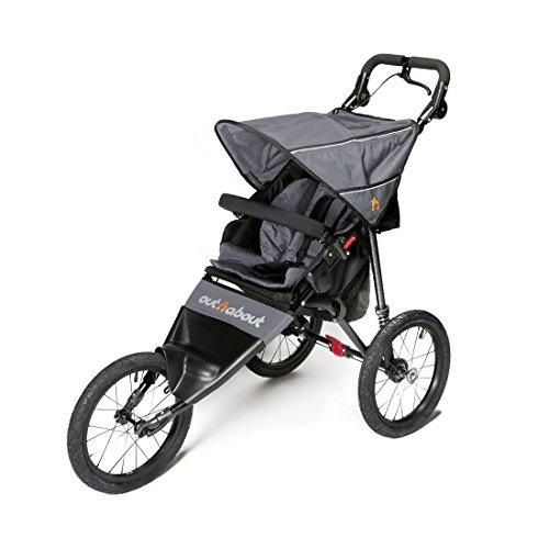 Out n About Nipper Sport v4 Stroller Steel Grey