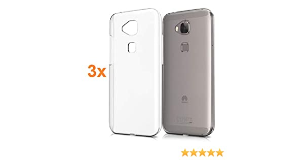 REY 3X Funda Carcasa Gel Transparente para Huawei G8, Ultra Fina 0 ...