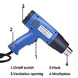NXKang Heat Gun Hot Air Gun Dual Temperature + 4