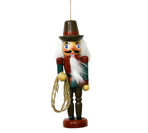 Rodeo Christmas Ornament (Western Nutcracker Ornament - Single Ornament)