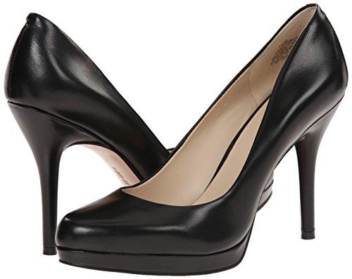 41r-tdvuTxL Nine West Women's Kristal Leather Dress Pump, Black Leather, 7 M US