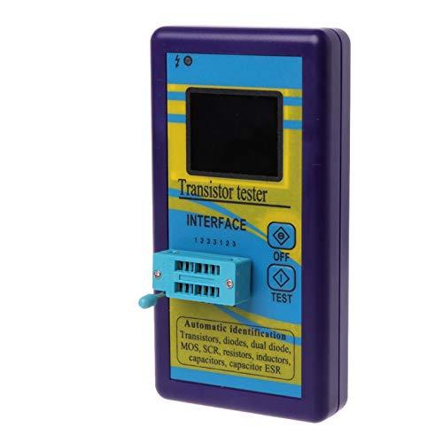 TOOGOO M328 Multi-Purpose Transistor Tester Diode Resistor Esr Capacitance Lcr Meter Portable New - Portable Meter Lcr