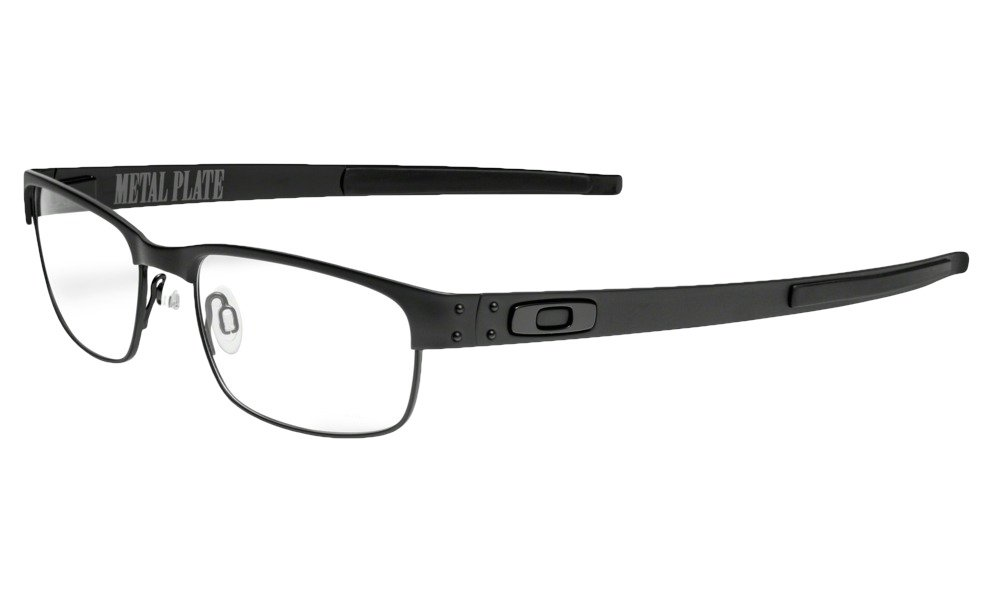 Oakley Metal Plate Eyeglasses New 100% Authentic (Matte Black, 53) by Oakley