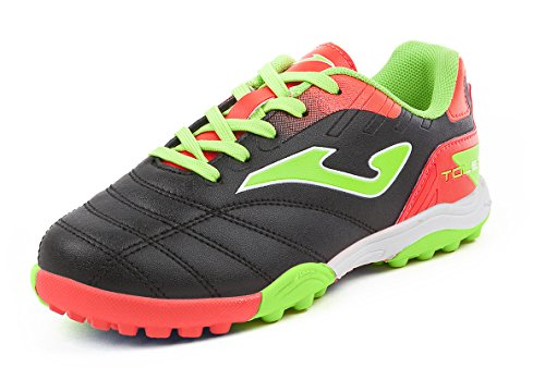 Chaussure Football JOMA Toledo Jr 701 Black Turf nº34