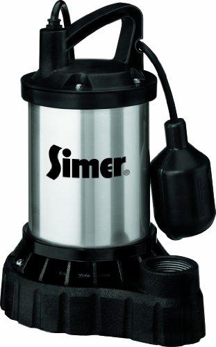 SIMER 3985 1/2 HP Submersible Sump Pump