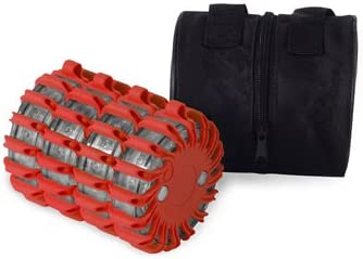 POWERFLARE 8er Set rot Tasche LED Signallicht
