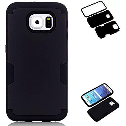 AMCHOICE(TM) Galaxy S7 Case,S7 Case, 3 in 1 Style Combo Bumper Protective Back Case for Samsung Galaxy S7 (Stylus,Screen Protector)(Black+Black) Sales