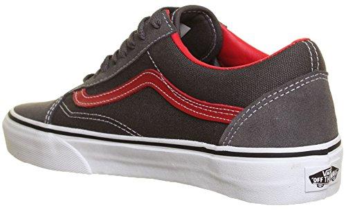 Vans - Zapatillas de lona para hombre gris - gris