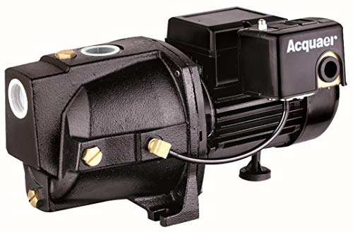 affordable Acquaer SJC100-1 1 HP Cast Iron Shallow Well Jet Pump for Wells up to 25 ft.