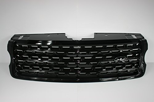 Zunsport Compatible with Range Rover Vogue (L405) Gloss Black Front Grille - Autobiography Conversion (2013-2017)