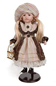 Regal Arts - Muñeca antigua porcelana 40cm