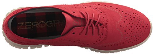 Cole Haan Mujeres Zerogrand Wing Ox Scooter Rojo