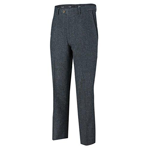 Gilet Tweed Blazer Pantaloni Separatamente blue nbsp;tuta 3 Misto Lana Uomo Venduto Trouser Blu Xposed IzwqPA1I