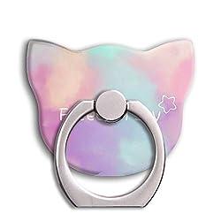 Universal Phone Ring Bracket holder ,Cat Shape Finger Grip Stand Holder Ring Car Mount Phone Ring Grip Smartphone Ring stent Tablet (lovely)