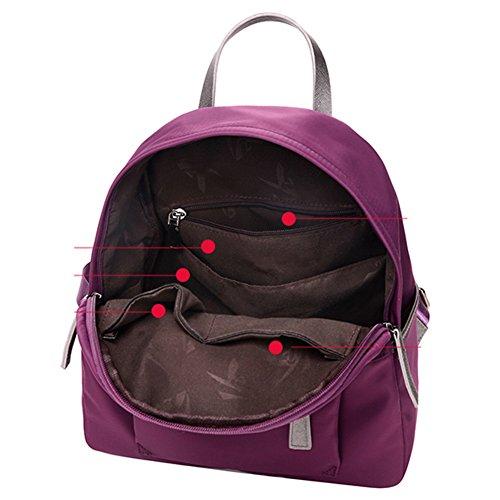 Mochila de nylon/Mochila Oxford/Bolsas de viaje de ocio/Morral de lienzo de la escuela-B A