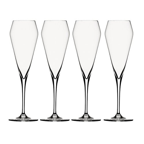 Spiegelau Willsberger Anniversary Champagne Glass, Set of 4 ()