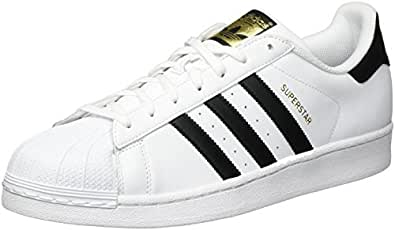 adidas Originals Men's 'Superstar' Sneakers EUR 40 White with black