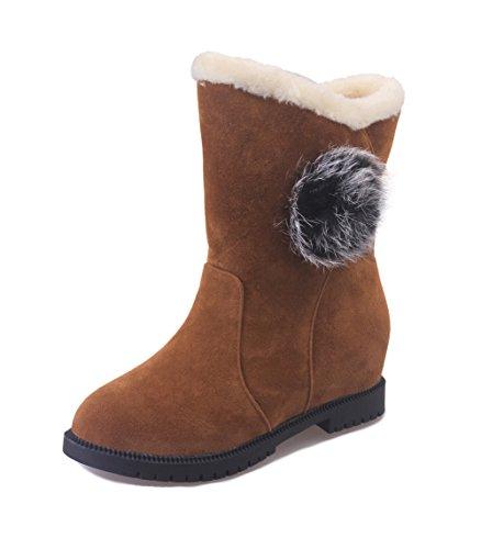 AILU WoMen Classic Boot Brown