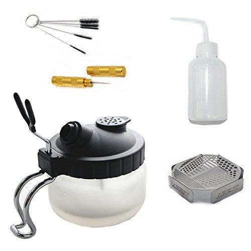 HUBEST 5 Sets Multi Purpose Airbrush Brush Holder Washing...