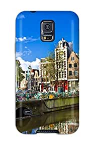 Galaxy S5 Case Cover Skin : Premium High Quality Amsterdam City Case
