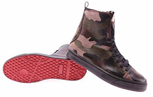 Chaussures Hommes Bottines SERAFINI Advanced Alaska Camouflage Militaire Italy