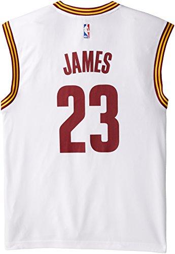 NBA Cleveland Cavaliers LeBron James #23 Men's Alternate Road Replica (Lebron James Authentic Home Jersey)