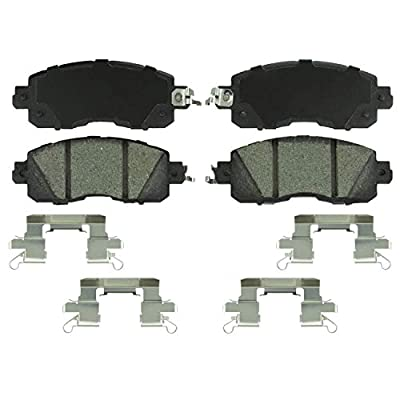 Bosch BC1650 QuietCast Premium Ceramic Disc Brake Pad Set For: Nissan Altima, Leaf, Front: Automotive
