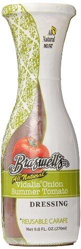 Braswell Tomato Dressing Carafe, Vidalia Summer, 9 Ounce (Pack of ()