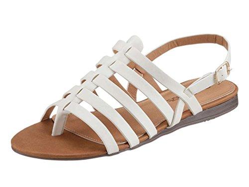 City Femme Walk Sandales Pour Weiß gfaxcrgqw
