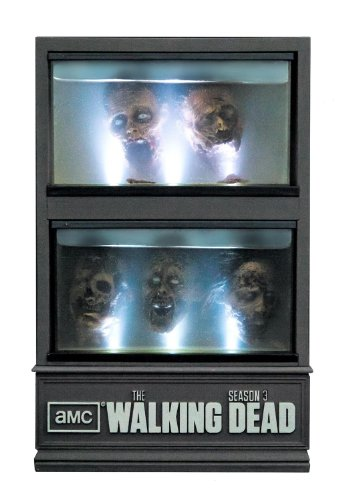 The Walking Dead: The Complete Third Season Limited Edition Zombie Head Fish Tank (Exclusive to Amazon.co.uk) [Blu-ray]