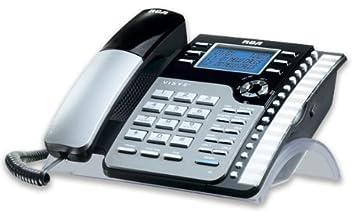 amazon com rca 25204re1 1 handset 2 line landline telephone rh amazon com RCA 2-Line Phones Manuals A Manual H5400RE3