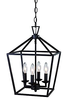 "Trans Globe Lighting 10264 ROB Indoor Lacey 12"" Pendant, Rubbed Oil Bronze"