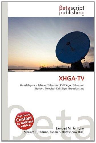 Xhga-TV: Amazon.es: Surhone, Lambert M, Tennoe, Mariam T ...