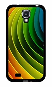 Color Spiral Rainbow - Phone Case Back Cover (Galaxy S4 - Plastic)