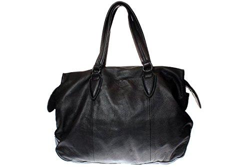 Liebeskind YAMAGATA DOUBLE DYE STUDS - Damen Tasche Handtasche - ninjablack kvsha73Om