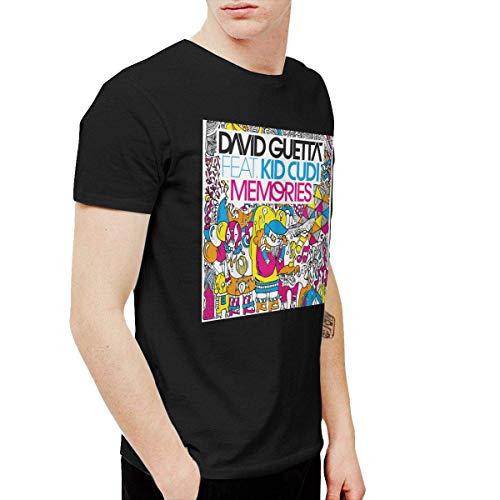 Mekoe Men David Guetta Memories Humor Tennis Black Tee Short Sleeve,Black,5X-Large (Best Memories David Guetta)