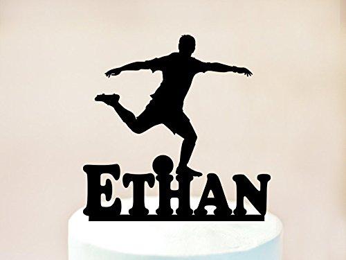 Decoración para tarta temática de fútbol, decoración para ...