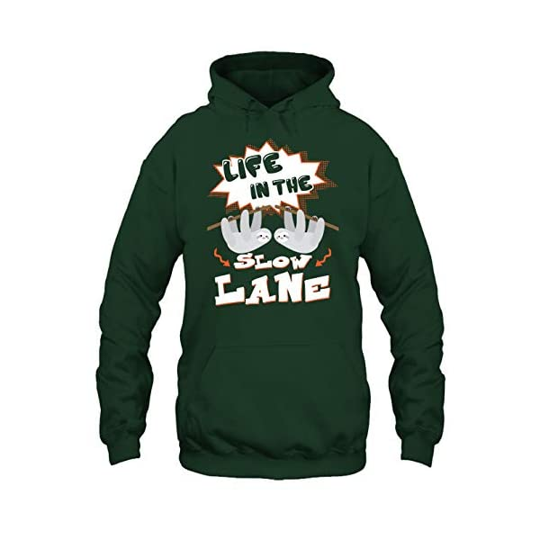 Sloth T Shirt - Life In The Slow Lane Tee Shirt -